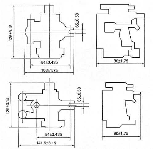 jl3-60a-100a过电流继电器