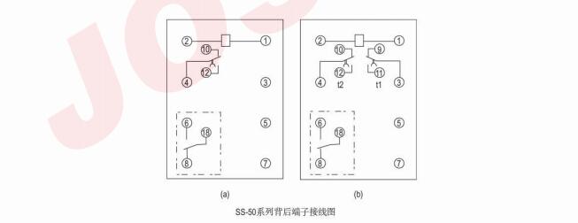 二,结构特点    该继电器为集成电路式晶振,分频原理.