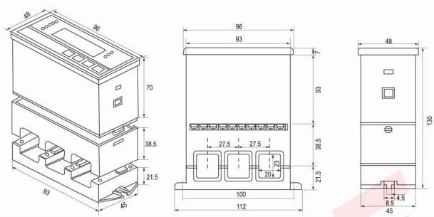 zbh60y-500a智能型微机保护器