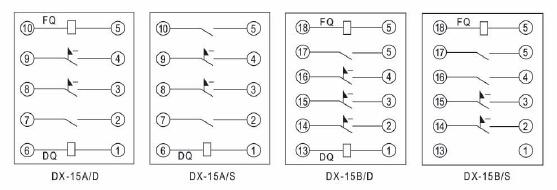 dx-15b/d--dx-15b/d信号继电器