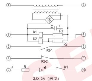 剪断销信号装置 zjx-3a型剪断销信号装置  装置由变压器,整流桥,小型