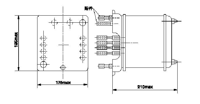 dh-1型一次重合闸继电器