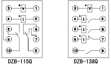 dzb-138q中间继电器