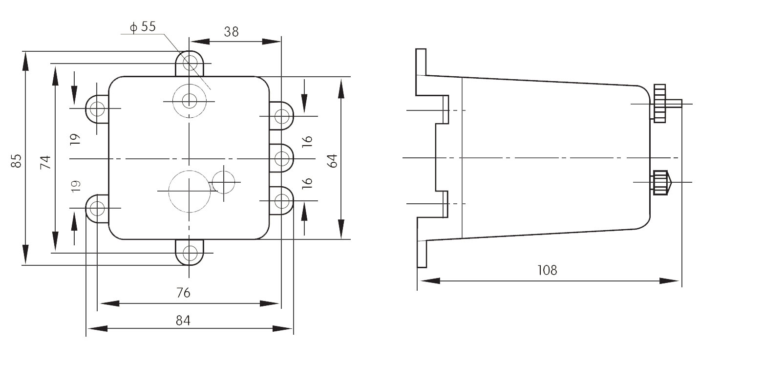 dx-11,11a,11b,11c型信号继电器