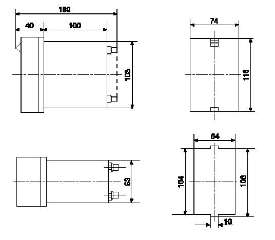 dx-61q,dx-60q系列信号继电器