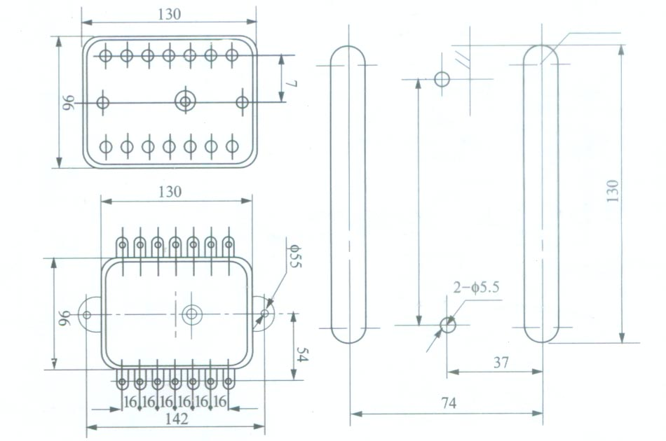 装置端子1和2接交流50hz220v电源,当端了3和端子4(接水位电极)端子5和