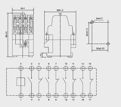 jz17系列中间继电器