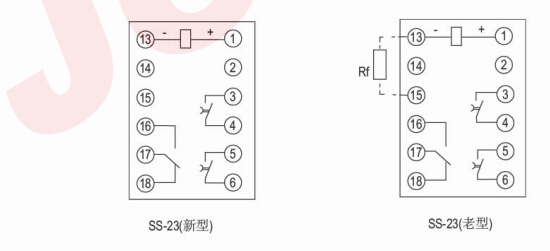 ss-21b--ss-21b时间继电器-上海约瑟电器有限公司