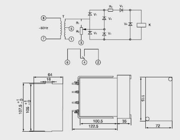 零序电压接线图