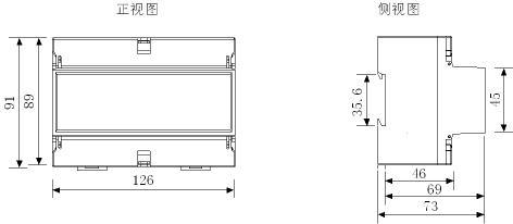dds866/dts866导轨式智能电表