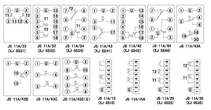 xj-ss33集成电路时间继电器
