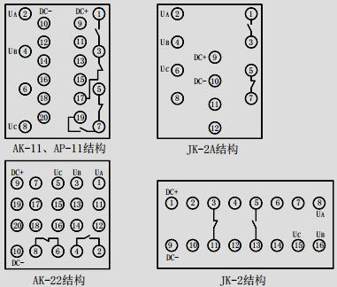 fy-310型负序电压继电器