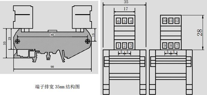 wzy系列微型端子排中间继电器