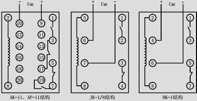 5a;1a    额定频率:50hz    辅助直流电源额定电压:220v;110v;48v